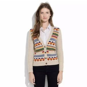 "Madewell Wallace ""Photobook"" aztec sweater"